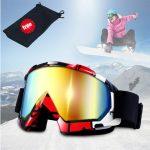 JTENG rouge masque de ski