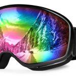 ODOLAND Lunettes de ski pour enfants