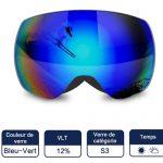 Tomount Anti-UV400 masque de ski